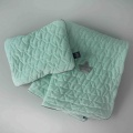 La millou VELVET COLLECTION – POŚCIEL – BLANKET & MID PILLOW - mint