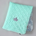 La Millou VELVET COLLECTION - KOCYK 80 x 100 VELVET- COTTON la millou family- mint