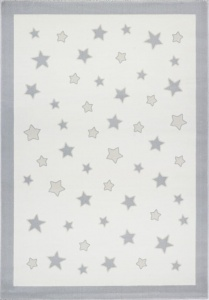 KIDS LOVE RUGS Dywan  PASTEL FRAME GREY 120x170